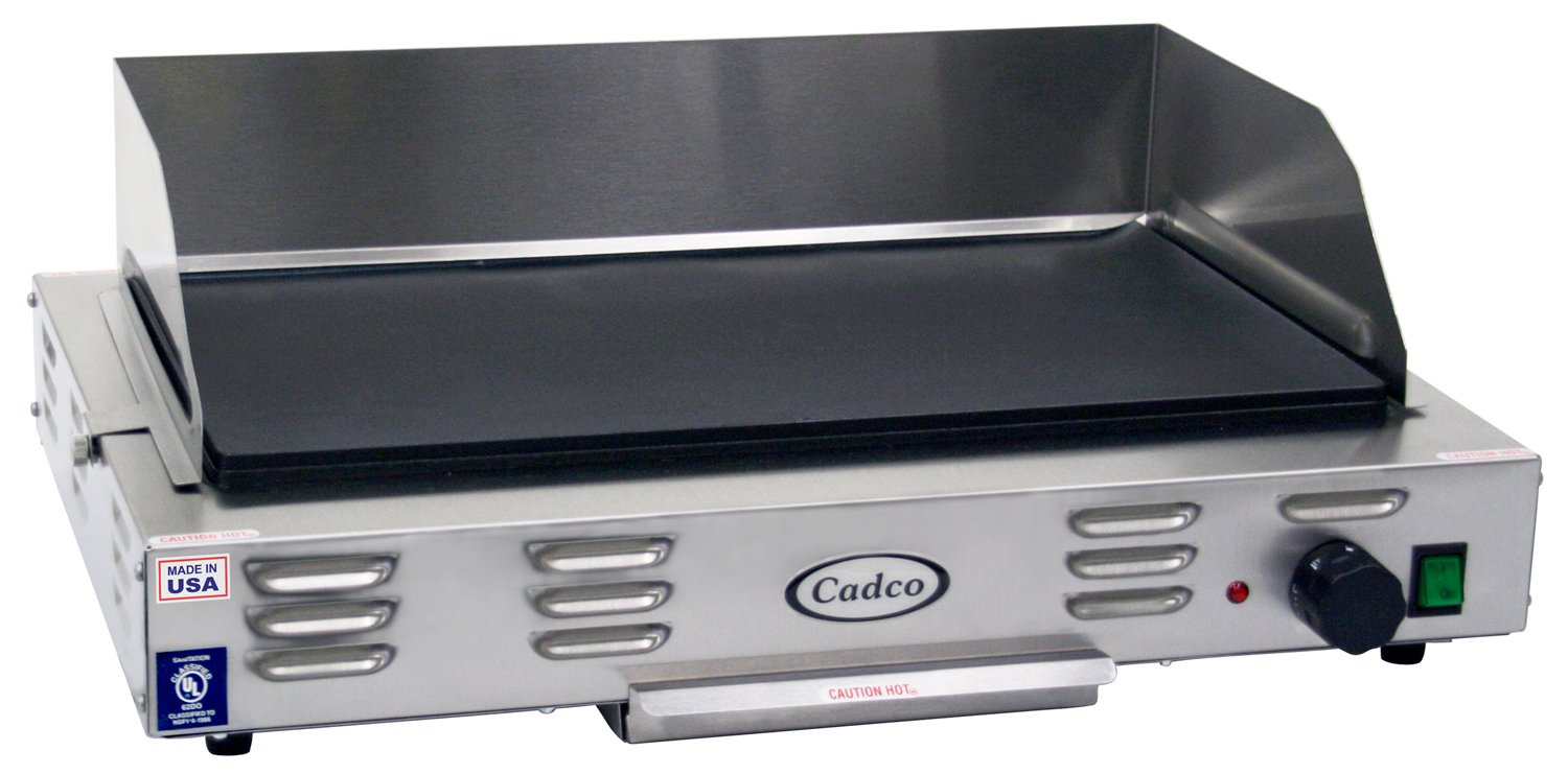 Cadco CG-10 Countertop 120-Volt Electric Griddle by Cadco