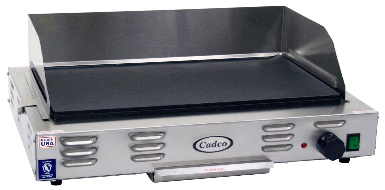 Cadco CG-10 Countertop 120-Volt Electric Griddle