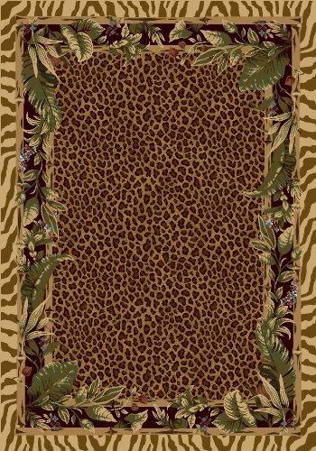 Milliken 4000021950 Signature Collection Jungle Safari Runner Area Rug, 2'1