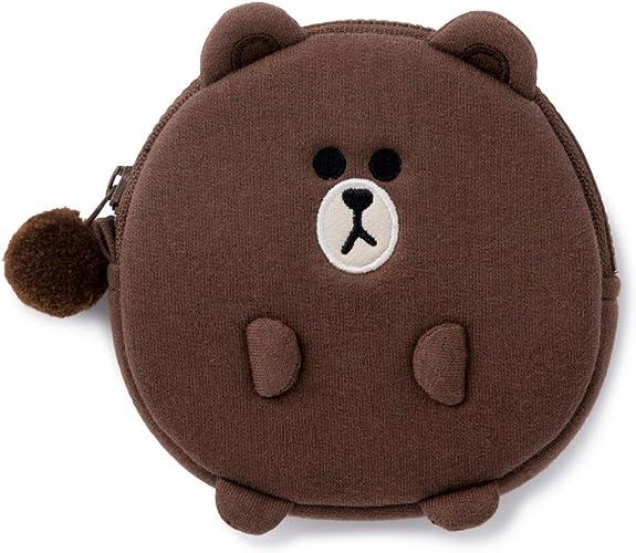 Amazon.com: LINE FRIENDS Monedero – Character algodón bolsa ...