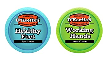 amazon o keeffe s working hands cream healthy feet value pack