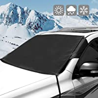 $20 » Windshield Snow Ice Cover Winter Frost Cover for Car Waterproof Frost Guard Protector Keeps Ice…