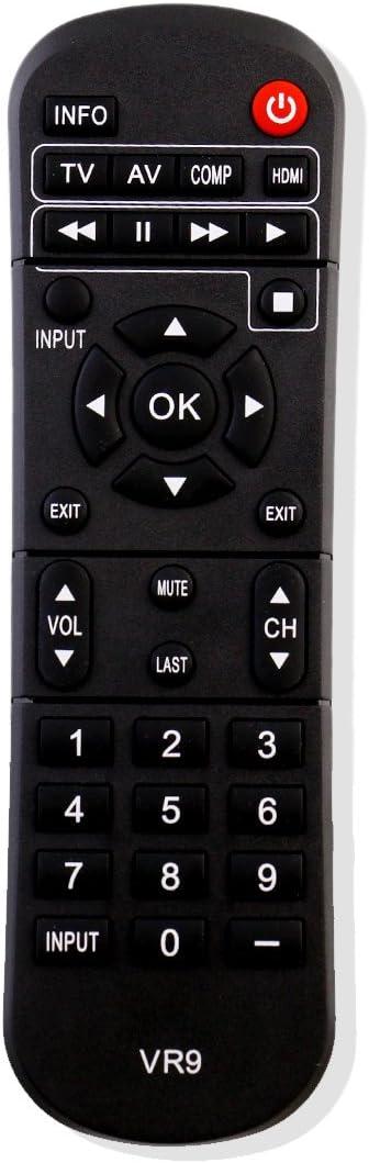 ghdonat.com Vizio VR9 TV Remote for VIZIO M260MV M190MV M220MV ...