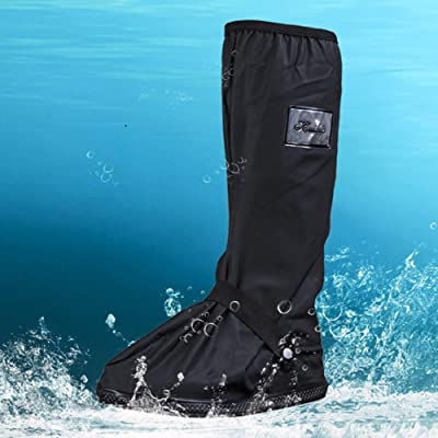 PVC Waterproof Shoes Protectors Covers Protective Boots Anti-Slip Wet Rainy Day