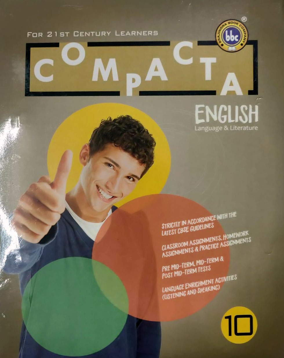 Bbc Compacta Class 10 English Worksheet Only Amazon In Bbc Books
