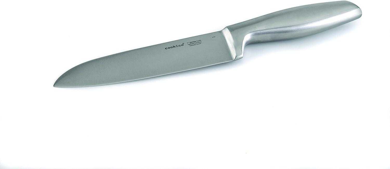 Amazon Com Berghoff Geminis Stainless Steel Santoku Knife 7