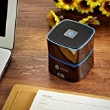[PC Advisor Recommended] iClever Portable Bluetooth Speaker Rechargeable with Enhanced Bass, Super-Sized 5W Driver, Built-in Microphone for MP3 Players, Smart Phones, Pads, Laptops & Other Devices -[Zinc Alloy Shell] Bild 2