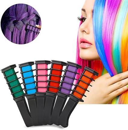 J. causd 6 colores temporales Color del pelo pelo färbek ...