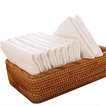 GUO 10 pañales de gasa bebé se pueden lavar los pañales de tela de algodón de