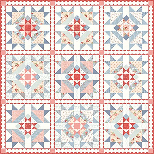 3 Sisters Victoria Quilt Kit Moda Fabrics KIT44160 3 Sisters Moda Quilt Fabric