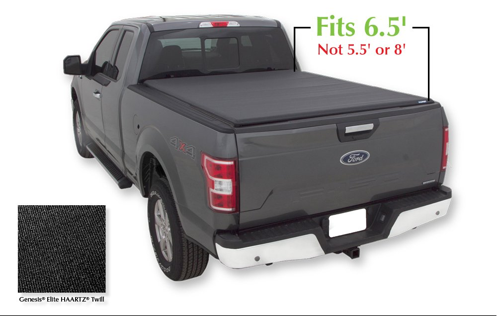 Lund 96873 Genesis Elite Roll Up Truck Bed Tonneau Cover For 2004 2018 Ford F 150 2006 2008 Lincoln Mark Lt Fits 6 5 Bed Www Cooperpointjournal Com