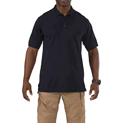 5.11 Men's Tactical Short Sleeve Tall Professional Polo Shirt, Style 41060T: Clothing