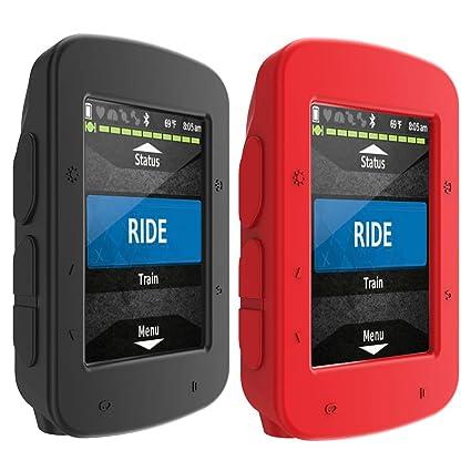 TUSITA Case for Garmin Edge 520 Plus - Silicone Protective Cover - GPS Bike  Computer Accessories