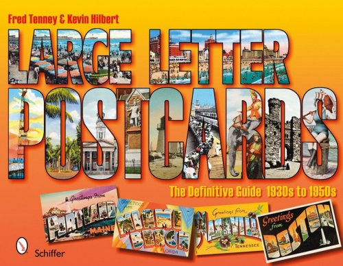Large Letter Postcards: The Definitive Guide, - Postcard 1950's