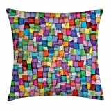 Abstract Throw Pillow Cushion