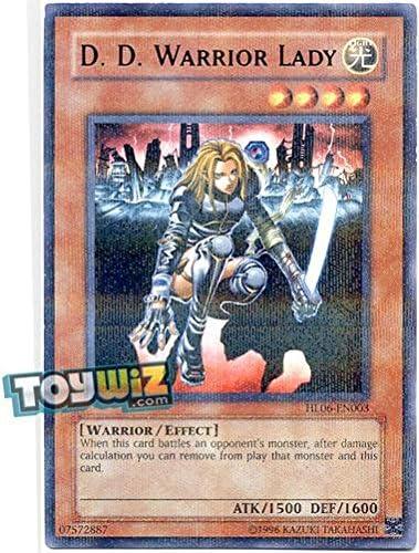 Yu-gi-oh warrior lady hl06-fr003 nm d.d