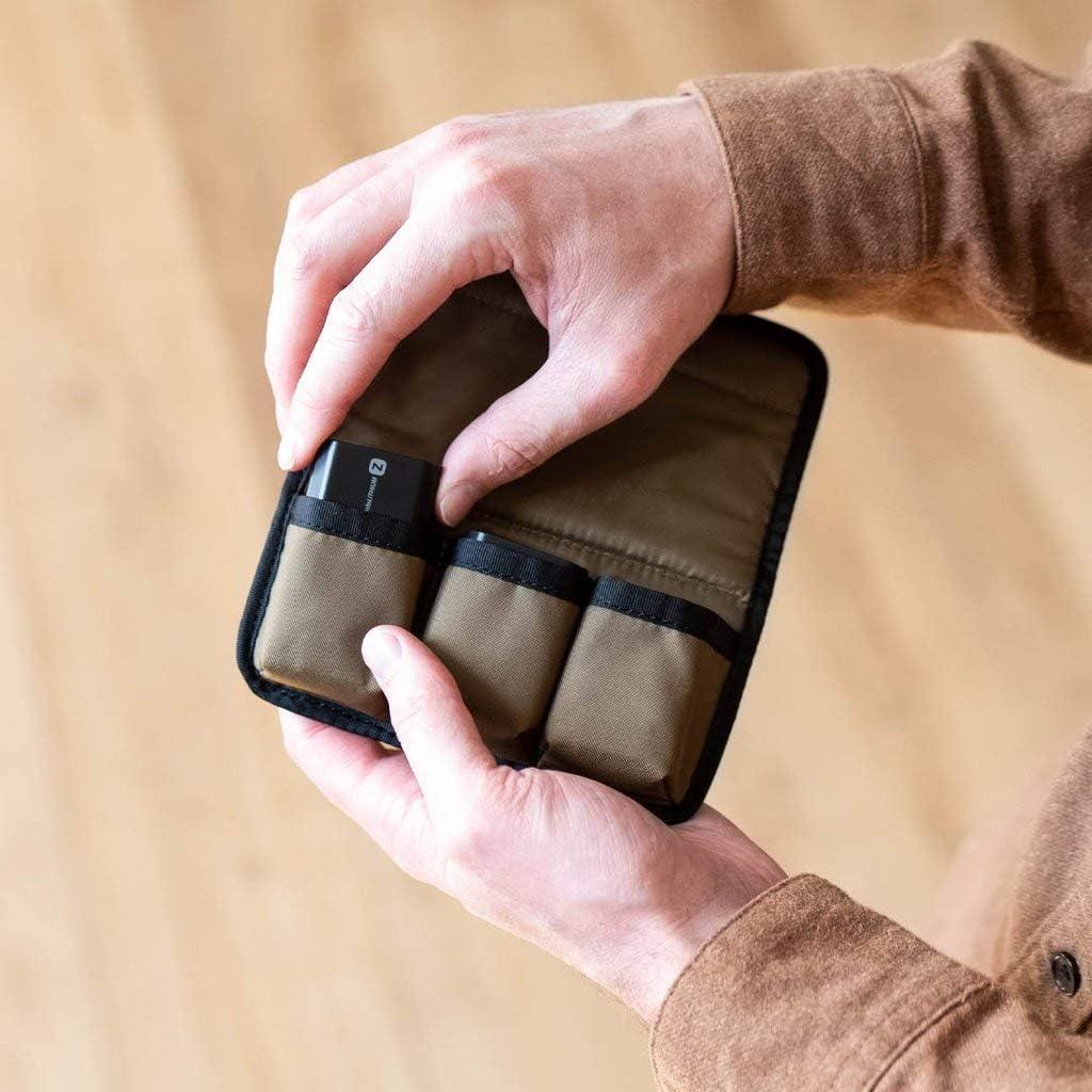 /Étui de protection pour batteries dappareil photo Nomatic McKinnon Battery Case pour jusqu/à 3 batteries dappareil photo Poche pour accessoires appareil photo reflex