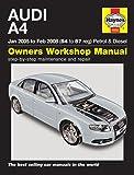 Audi A4 Repair Manual Haynes Manual Service Manual Workshop Manual 2005-2008