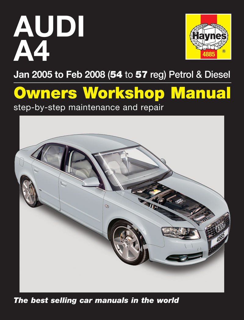 Audi A4 Petrol & Diesel Haynes Manual 2005-2008: Amazon.co.uk: Car &  Motorbike
