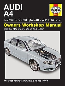 Manuel Haynes pour Audi A4 essence et diesel 2005-2008 (français non garanti): Amazon.es: Coche y moto