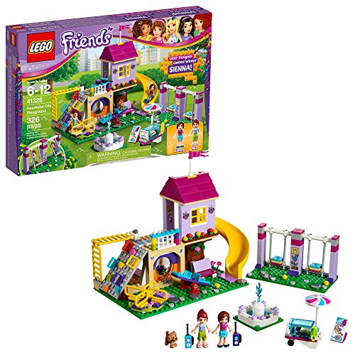 LEGO Friends Heartlake City Playground 41325 Building Kit (326 Piece) (Amazon Exclusive) by LEGO