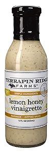 Terrapin Ridge Farms Lemon Honey Vinaigrette Dressing – One 12 Ounce Bottle