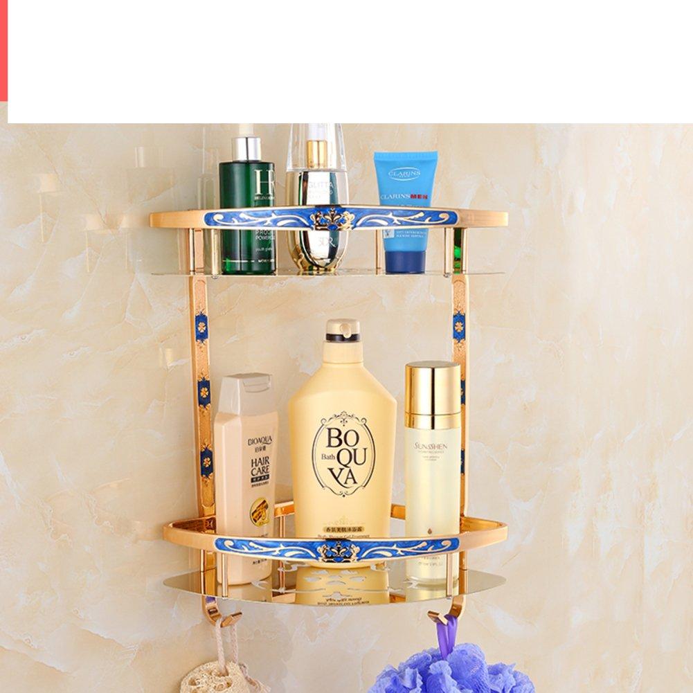 European style Towel rack/Single bar/ double/Towel shelf /Tripod/ blower shelf /row hook/Toilet brush holder-D