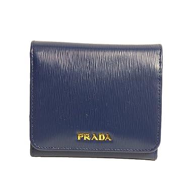 742e6409a088 store prada womens wallet vitello move bi fold blue 1mh176 4d9f0 9d6dc