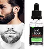 Sinwo 40ML Men Liquid Beard Growth Fast Enhance Facial Whiskers Nutrition Moustache (A)