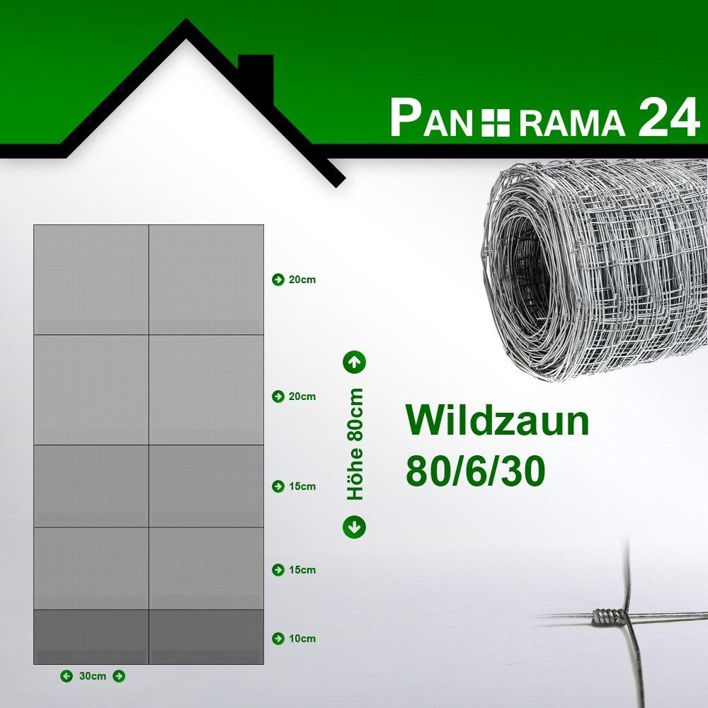 Forstzaun Wildzaun 160  15  30 Knotengeflecht Maschendraht
