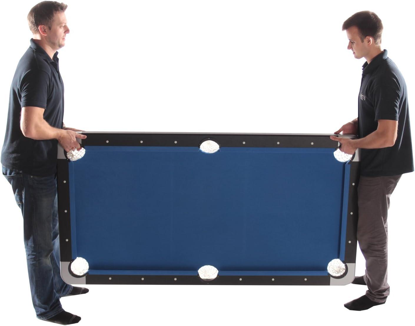 Tekscore - Mesa de billar plegable con parte superior para tenis ...