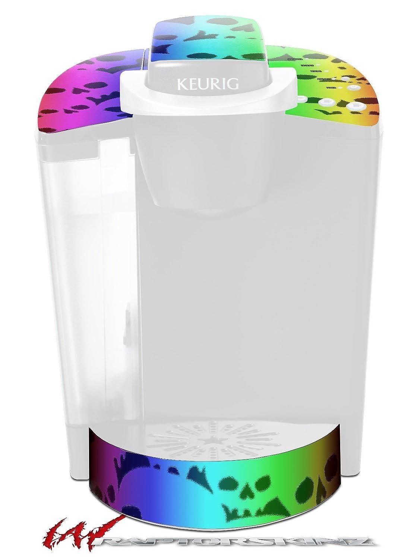 レインボースカルコレクション – デカールスタイルビニールスキンFits Keurig k40 Eliteコーヒーメーカー( Keurig Not Included )   B017AK9QIE