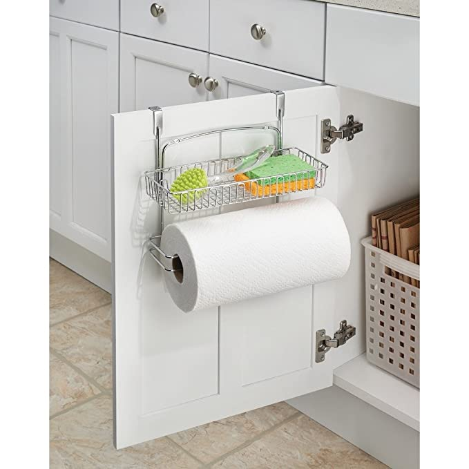InterDesign 50180EU Classico Küchenrollenhalter zum Hängen über die ...