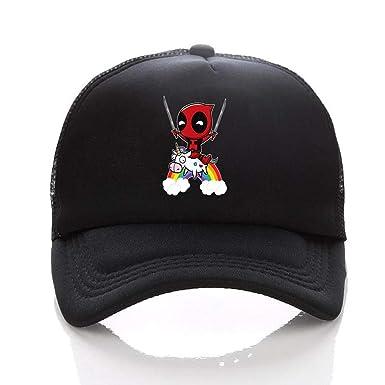 Gorra de Deadpool de Marvel Comics, con diseño de Dibujos Animados ...