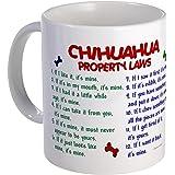 CafePress - Chihuahua Property Laws 2 Mug - Unique Coffee Mug, Coffee Cup