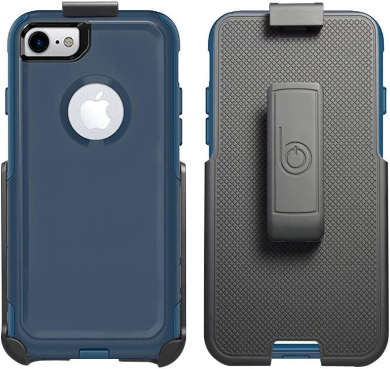 """BELTRON Belt Clip Holster Compatible with OtterBox Commuter Case for iPhone 6/6S Plus 5.5"""" (case not Included) - Features: Secure Fit, Quick Release Latch & Built-in Kickstand"""