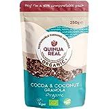 Granola de quinoa real con cacao y coco sin gluten BIO - Quinua Real - 250g