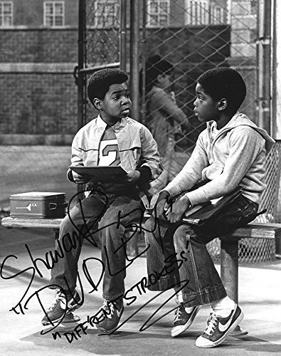 Shavar Ross Hand Signed 8x10 Photo Gary Coleman Diff'rent Strokes Arnold and Dudley TV Show Original New Autograph B&W Print 1981 (Official)