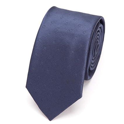KYDCB Corbata de los Hombres Moda Delgado Corbata de la Raya 6Cm ...