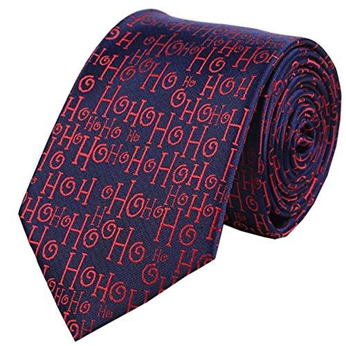 YQDong Men's Woven Microfiber Tie Solid Satin Necktie Standard Length Christmas Eggplant Handmade Neck Tie Various Pattern by YQDong