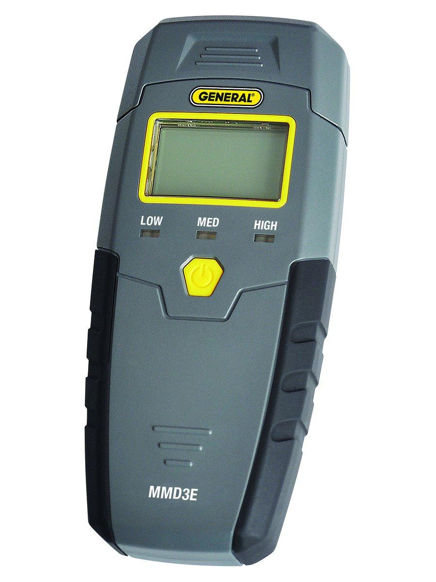 General Tools MMD3E Pin Type Digital Moisture Meter