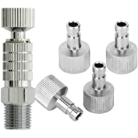 ABEST Airbrush quick disconnect coupler release fitting Adapter with 5 Male fitting 1/8 M-F