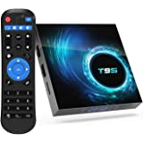 T95 Android 10.0 TV Box, Android Box 4GB RAM 64GB ROM Allwinner H616 Quad core 64-bit, Support 6K HD/ 3D/ H.265 Ethernet 2.4/