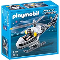 PLAYMOBIL Police Copter Playset