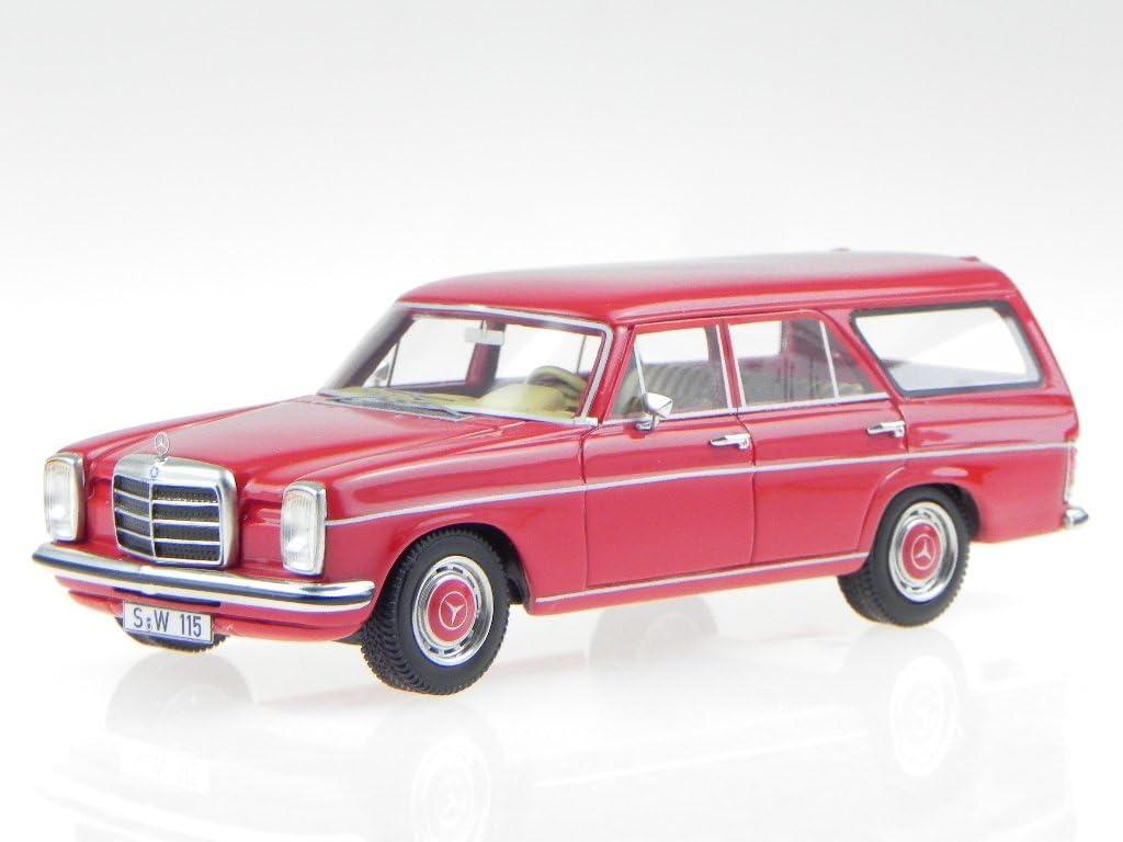 Mercedes W115 220 Binz Kombi rot Modellauto 43500 BOS 1:43
