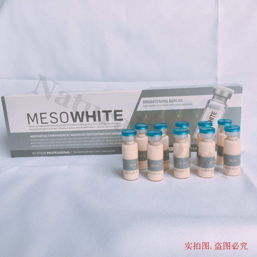10 x 5ml BB Cream MesoWhite Brightening Serum Natural Nude Make Up up to 25 day ship