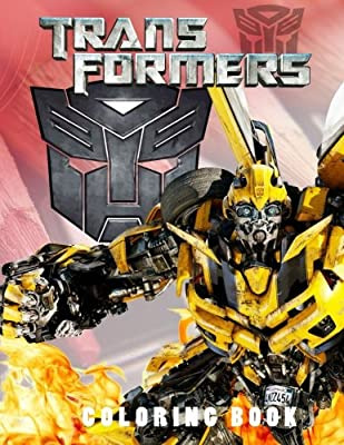 Transformers Coloring Book: Coloring and Activity Book for Kids and Adults. 40 illustrations.