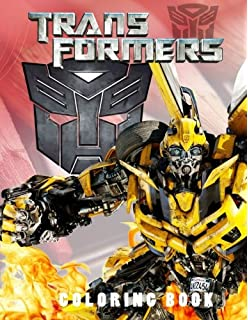 transformers coloring book coloring and activity book for kids and adults 40 illustrations