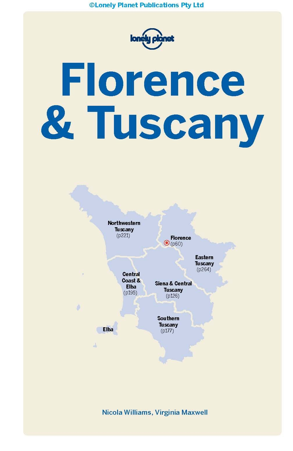 Tuscany and Umbria By Virginia Maxwel Lonely Planet Country /& Regional Guides