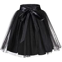 faldas de trabajo minifalda para oficina etc. brillante boda club sedosa de talle alto el/ástico de nailon c/óctel negocios HNJZX Falda para mujer noche